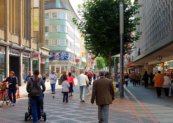 Calles comerciales peatonales - Blog Unagras - España