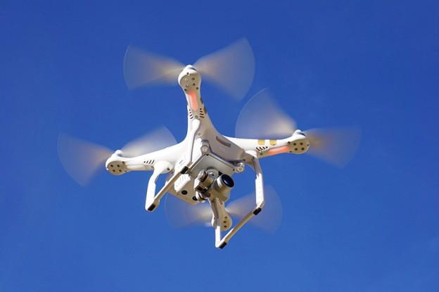 Entregas de alimentos con drones