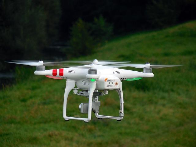Entregas de bebidas y alimentos con drones