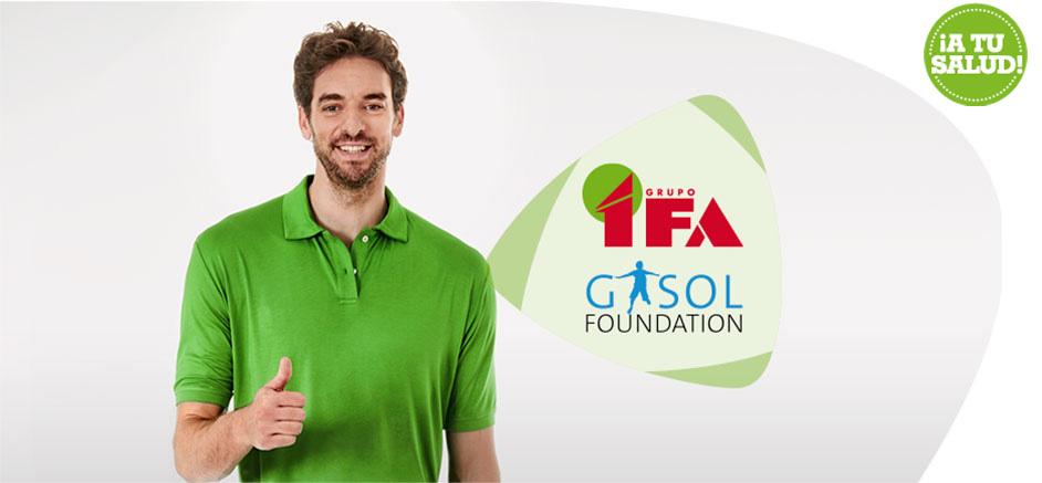 gasol foundation y grupo IFA