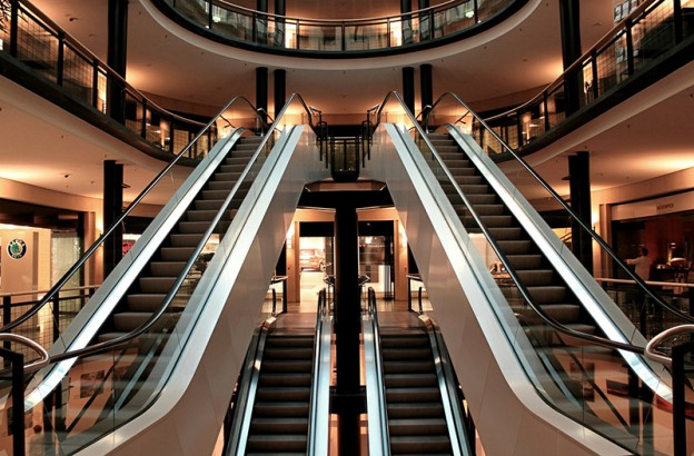 Afluencia Centros comerciales