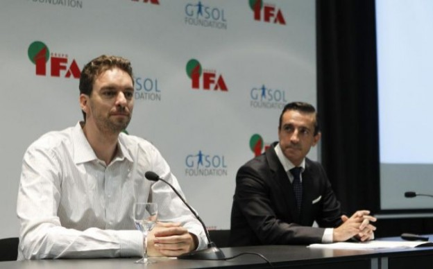 Fundación Gasol y Grupo Ifa