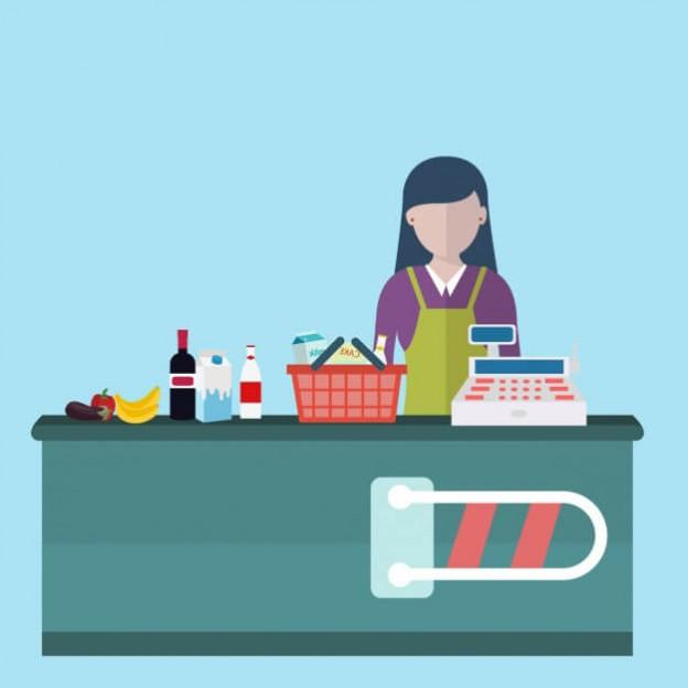 unagras-importancia-cajero-supermercado
